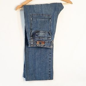 Lucky Brand Jeans Size 6 Blue Capris